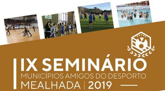 Mealhada recebe seminário de Municípios Amigos do Desporto
