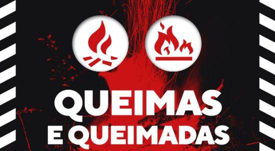 Proibido fazer queimas e queimadas - Declaração de Situação de Alerta