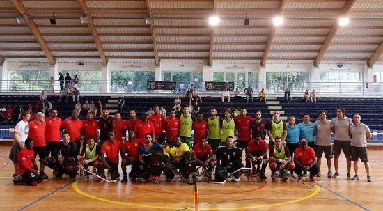 Seleção Nacional de Hóquei em Patins termina estágio no Luso
