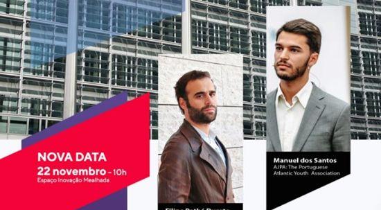 """Espaço Inovação recebe conferência com o tema """"A Defesa Europeia"""""""