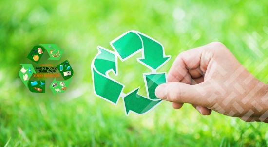 Ações de sensibilização e educação ambiental