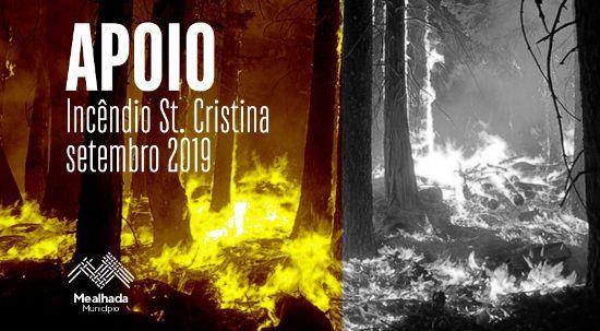 Câmara aprova fundo extraordinário para compensar prejuízos do incêndio em Santa Cristina