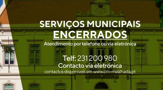 Mealhada encerra todos os serviços municipais