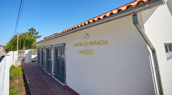 Jardim de Infância do Canedo é inaugurado no Dia da Criança