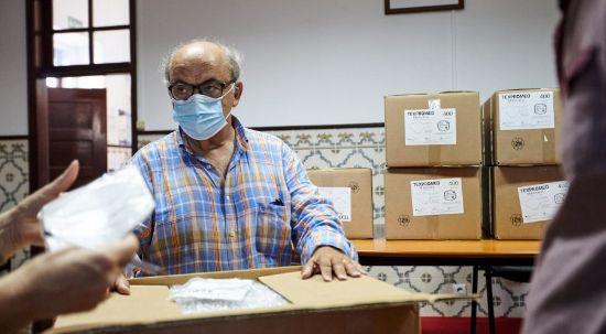 Câmara compra máscaras comunitárias de proteção para a população do concelho