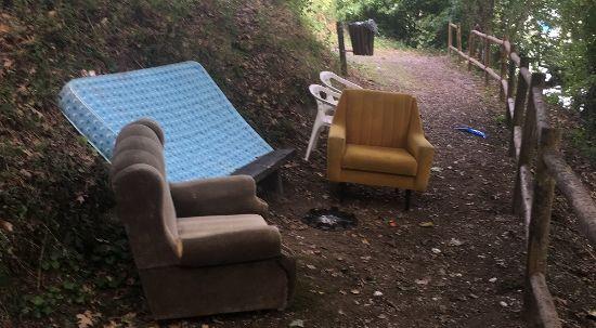 Câmara da Mealhada apresenta queixa por depósito ilegal e vandalismo no Luso