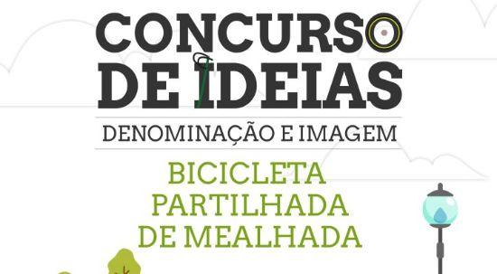 Município lança concurso de ideias para denominação e imagem da bicicleta partilhada