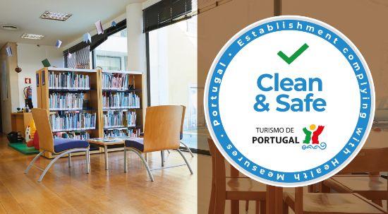 Biblioteca Municipal da Mealhada recebe selo Clean & Safe