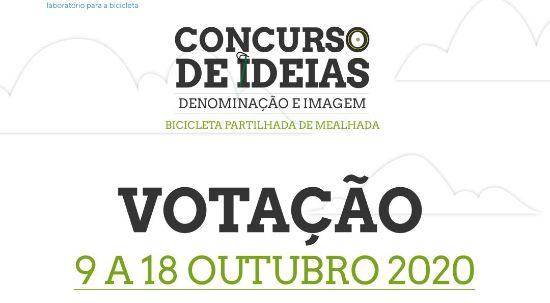 Concurso de ideias para bicicleta partilhada entra na fase de votação
