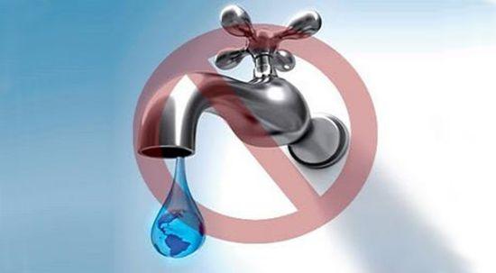 Interrupção do fornecimento de água em Barcouço