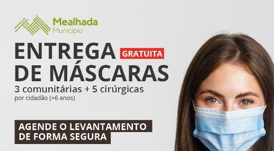 Entrega gratuita de máscaras