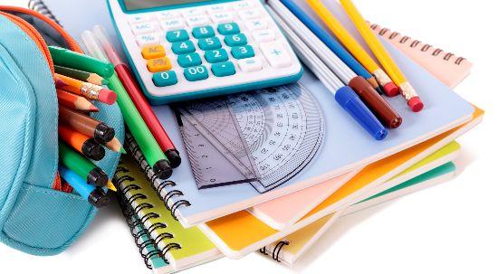 Auxílios económicos para material escolar
