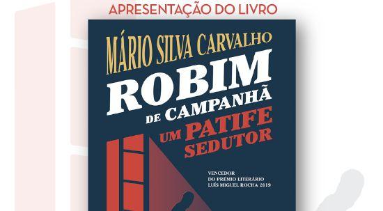 Escritor da Pampilhosa Mário Silva Carvalho apresenta novo livro na Biblioteca Municipal da Mealhada