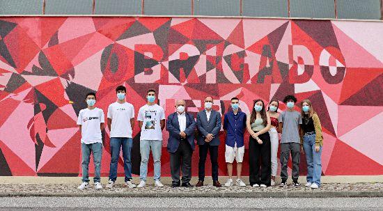 Câmara da Mealhada inaugura rota cultural de arte urbana