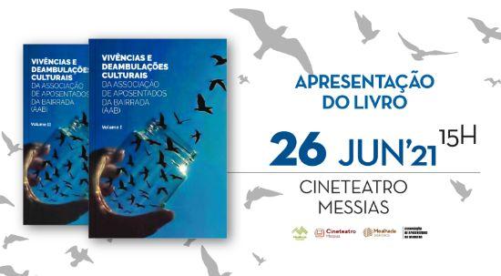 Cineteatro Messias recebe apresentação do livro da Associação dos Aposentados da Bairrada