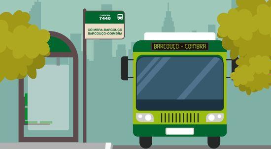 Carreira 7440 - Barcouço - Coimbra já está em funcionamento