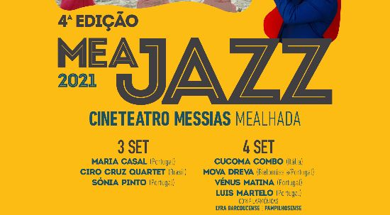 MEAJAZZ regressa à Mealhada este fim de semana