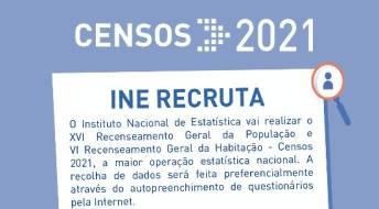 Ver Recrutamento para Delegados Municipais e Delegados Sub-regionais Censos 2021
