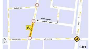 Ver Condicionamento de trânsito na Rua Dr. Cerveira Lebre