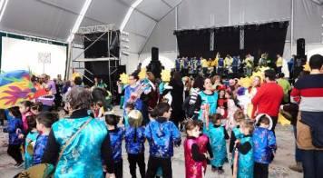 Mais de 800 crianças viveram Carnaval de Palmo e Meio