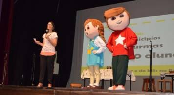 """""""No palco com o Gaspar e a Inês"""" encerrou projeto """"Empreendedorismo nas Escolas"""""""