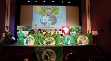 Município distinguido com bandeira ECOXXI e 14 escolas receberam bandeira Eco-escolas