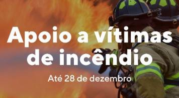 Aberto prazo para candidaturas a apoios destinados a vítimas de incêndio de Outubro