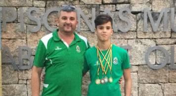 Treinador e atleta da Mealhada convocados para Seleção Nacional de Natação