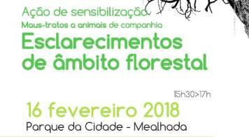 GNR realiza ação de sensibilização relativa animais e floresta