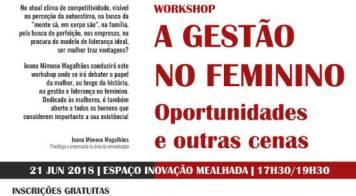 A gestão no feminino: oportunidades e outras cenas