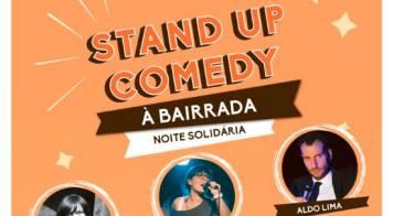 Noite solidária com Associação Sol traz Stand up comedy à Bairrada ao Cineteatro Messias