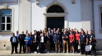 Seleções presentes no Campeonato da Europa recebidas na Câmara Municipal da Mealhada