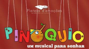 Cineteatro Messias recebe musical Pinóquio