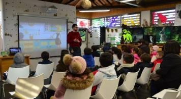 """Centenas de crianças """"Descobrem o rio"""" no Centro de Interpretação Ambiental"""