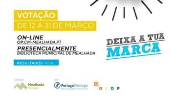Cidadãos convidados a votarem imagem do Orçamento Participativo de Mealhada
