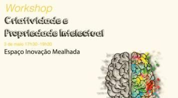 """Workshop """"Criatividade e propriedade intelectual"""""""