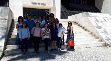 Técnicos de Bibliotecas da Mealhada visitaram Arquivo Nacional Torre do Tombo