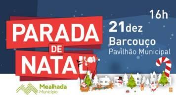 Parada de Natal será no Pavilhão de Barcouço