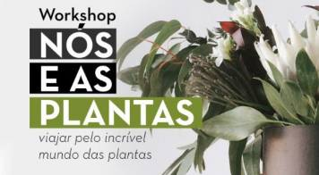 Biblioteca recebe workshop sobre plantas