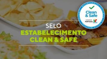 """Turismo de Portugal lança selo """"Estabelecimento Clean e Safe"""""""