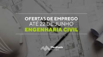 Ofertas de emprego - Engenharia Civil