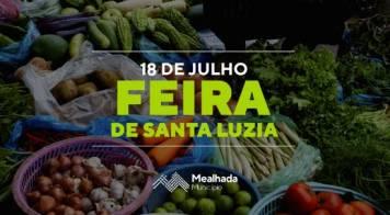 Feira de Santa Luzia regressa a 18 de julho