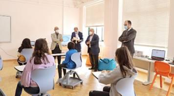 Mealhada inaugura sala inovadora que junta tecnologia a trabalhos manuais