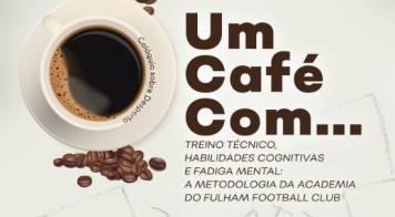 """""""Um café com... André Roca"""" realiza-se dia 30 de outubro"""