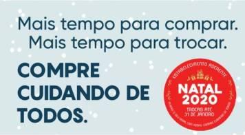Natal 2020, Compre Cuidando de Todos (estabelecimento de comércio a retalho)