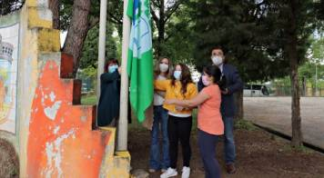 Onze Eco-Escolas na Mealhada hastearam bandeira do Ambiente